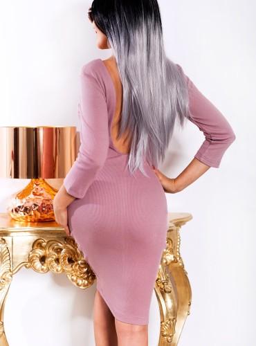 Sukienka SELINA - lawendowa