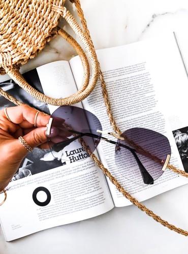okulary SIMPLE - czarne
