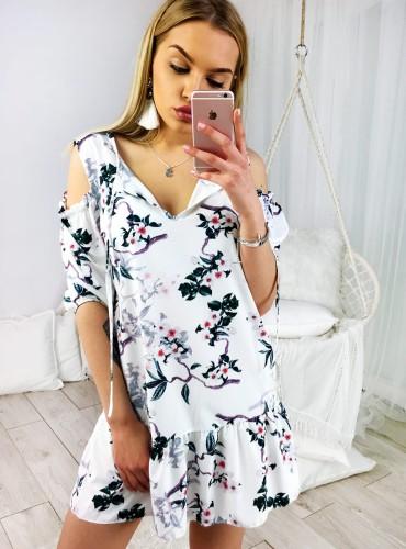 Sukienka TATIANA - biała