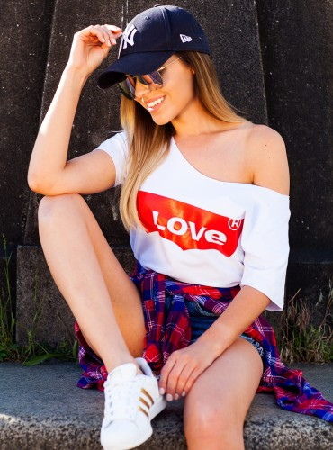 T-Shirt LOVE WHITE