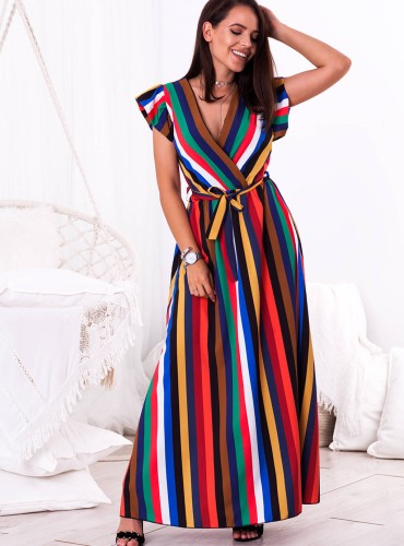 Sukienka LAVINA - multikolor