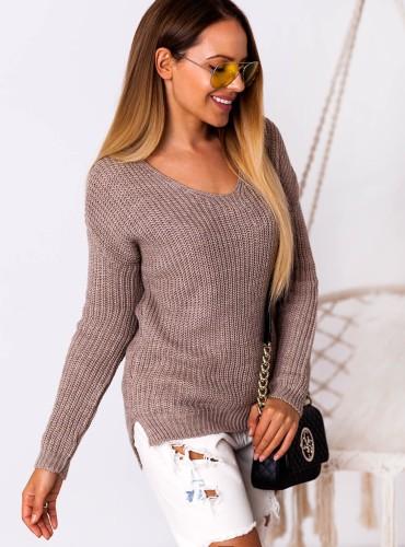Sweterek Audrey - cappuccino