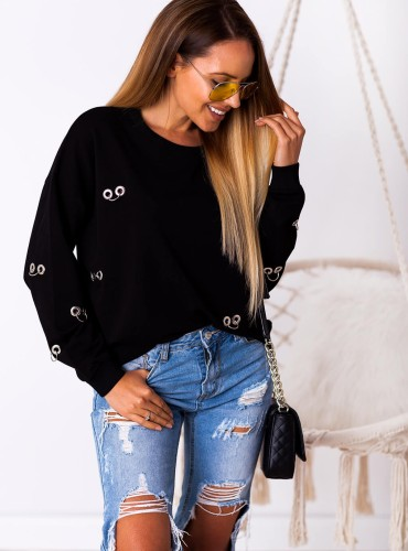 Bluza BARDA - czarna