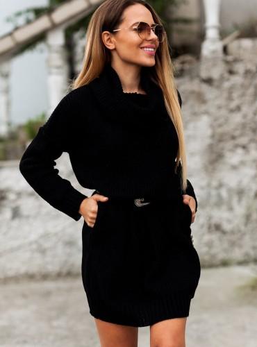Sweterek JENNY - czarny
