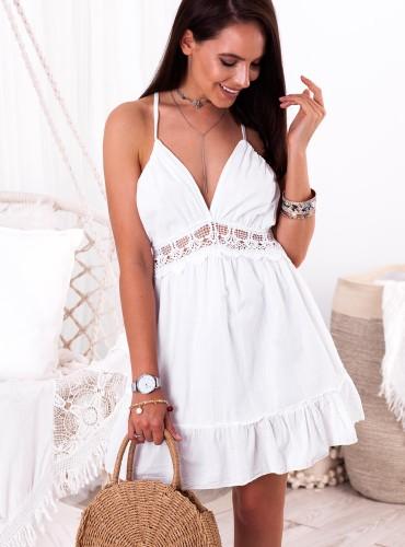 Sukienka VERTIE - biała