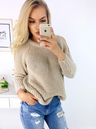 Sweterek NANCY - cappuccino