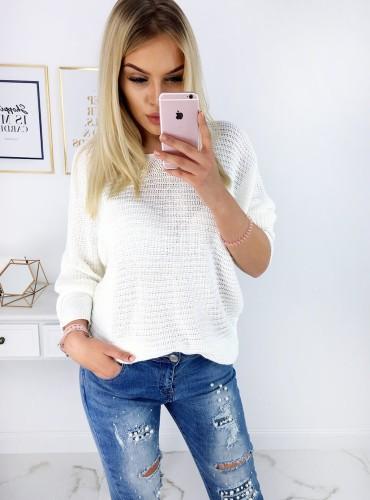 Sweterek YANA - Kremowy