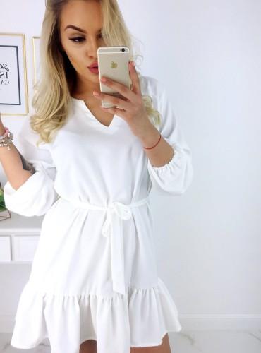 Sukienka ARIANA - biała