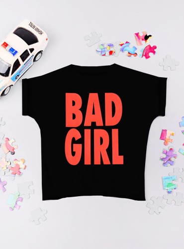 T-SHIRT BAD GIRL kids