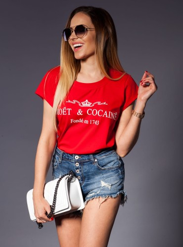 T-Shirt MOET RED