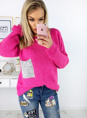 Sweterek Mercy - różowy