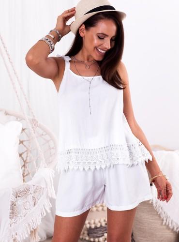 Bluzeczka BIANCA - biała