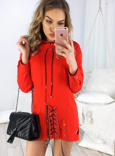 Bluza BELT - czerwona