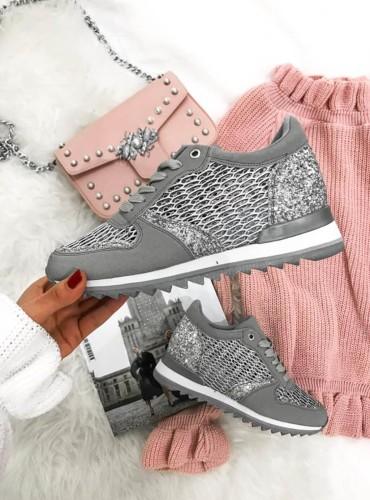 Sneakersy  Diamonds - szare