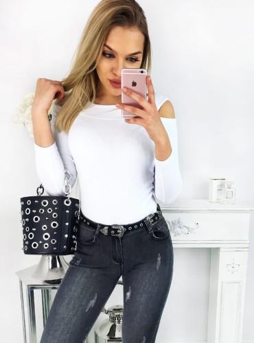 Bluzeczka justine - biała