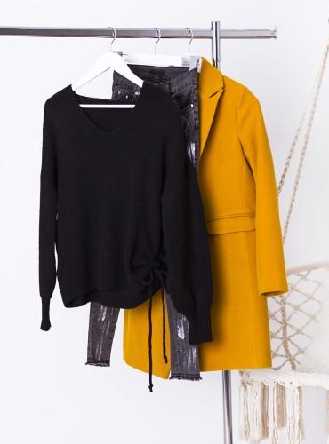 Sweterek SIDNEY - czarny