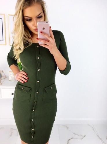 Sukienka JANE - khaki