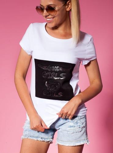 T-Shirt WINGS BIAŁY