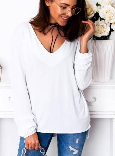 Bluzeczka LEIA - biała