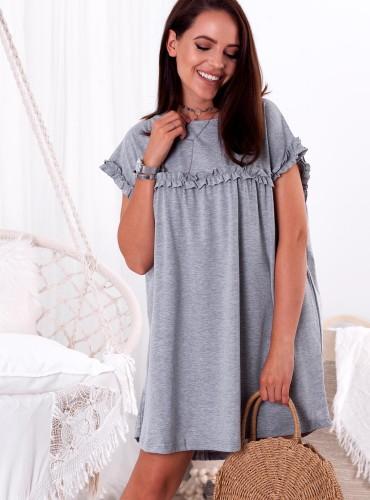 Sukienka LYRA - szara