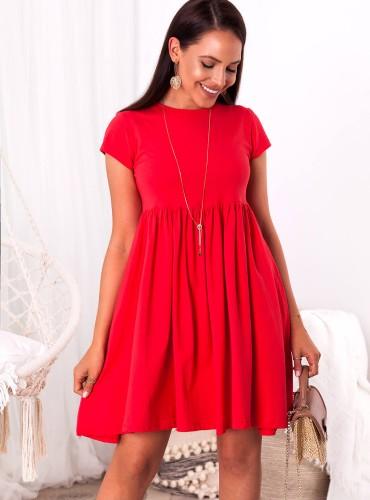 Sukienka SARI - czerwona