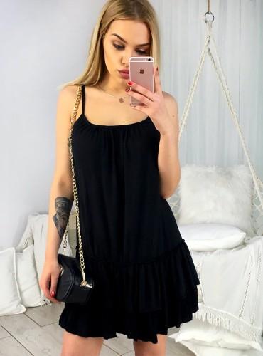 Sukienka LILIA - czarna