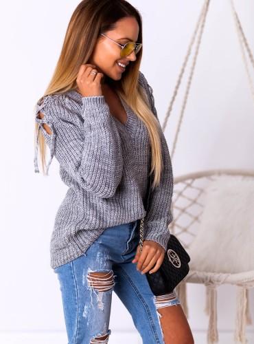 Sweterek JUVILA - szary