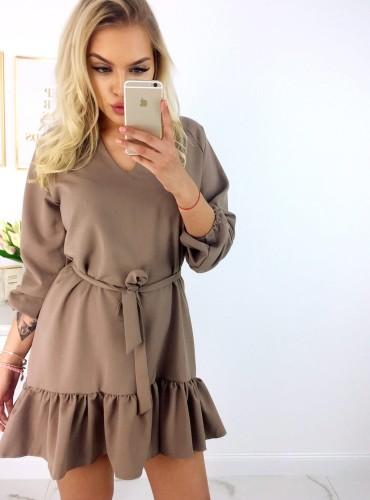 Sukienka ARIANA - camel