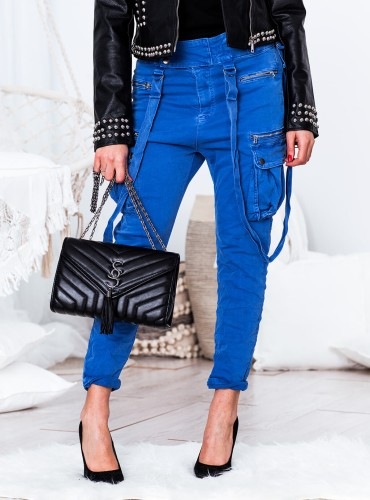 Spodnie Boy - kobalt