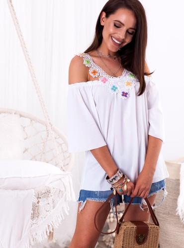 Bluzka LUISA - biała