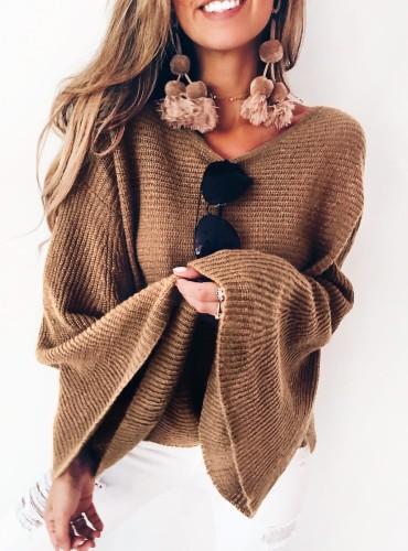 Sweterek PICO - camel