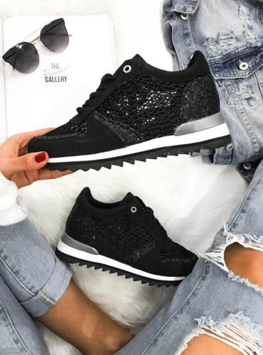 Sneakersy  Diamonds - czarne