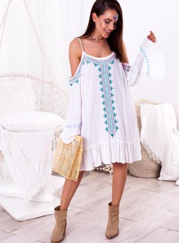 Sukienka VENE - biała