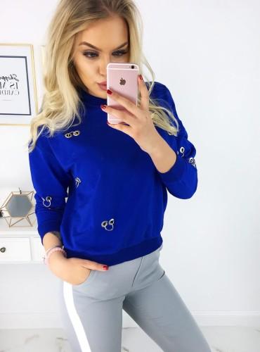 Bluza BARDA - niebieska