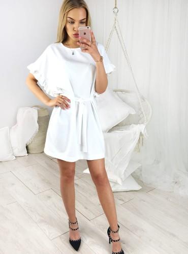 Sukienka VICTORIA - biała