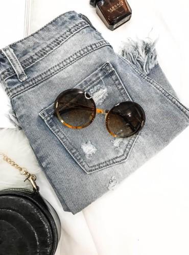 Okulary 1 - brązowe