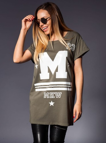 T-Shirt LOOK ĆWIEKI KHAKI