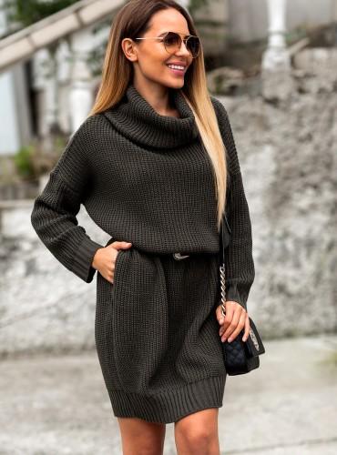 Sweterek JENNY - khaki