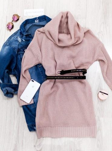 Sweterek JENNY - pudrowy róż