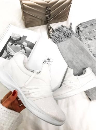 Adidasy brilliant - białe