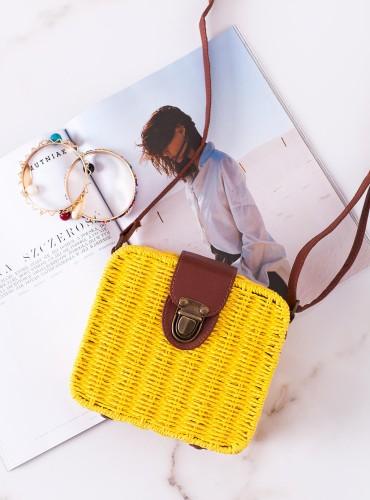 Koszyk Hessie - żółty