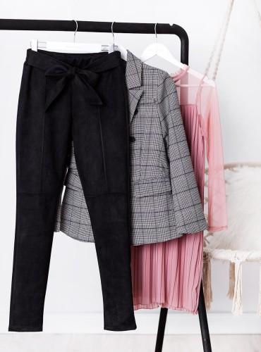 Spodnie CHASE - czarne