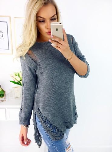 Sweter ZOYA - szary