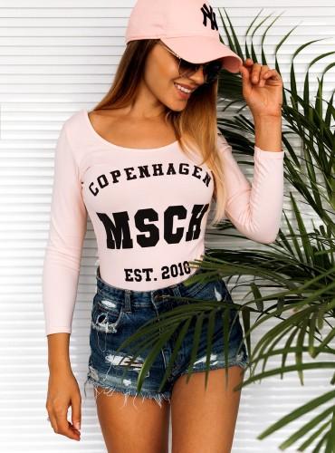 Body COPENHAGEN - pudrowy róż