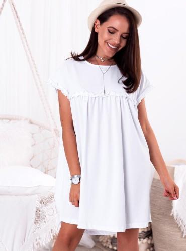 Sukienka LYRA - biała