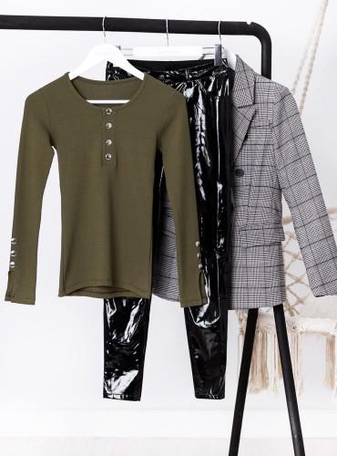 Bluzka ALANA - khaki