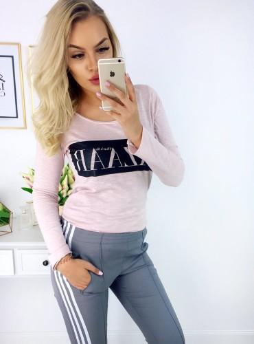 bluzka BAZAAR - różowa