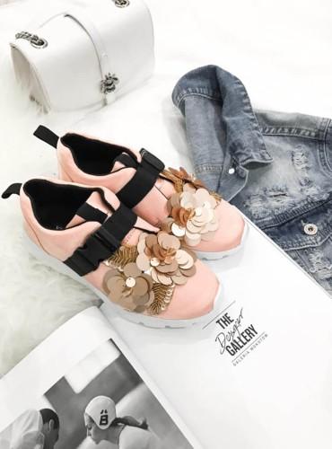Sneakersy  Flovers - różowe