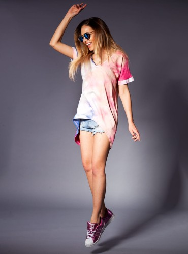 T-SHIRT BASIC LONG MULTICOLOR