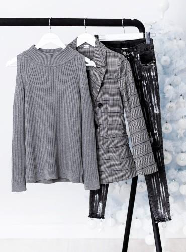 Sweterek DEYA - szary